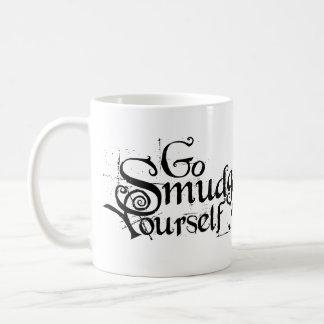 Disparaissent la tache vous-même mug blanc