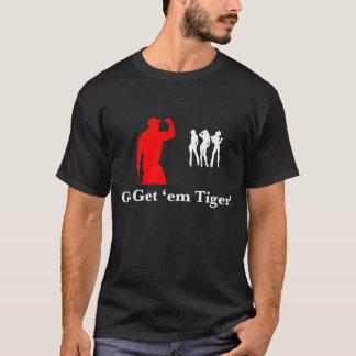 Disparaissent leur obtiennent le tigre ! t-shirt