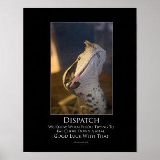 Dispatch Motivational Poster