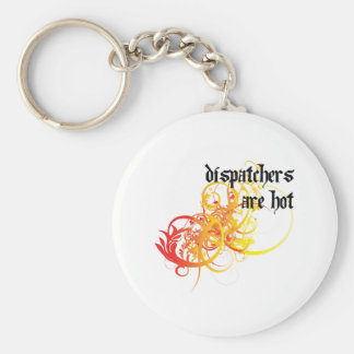 Dispatchers Are Hot Keychain