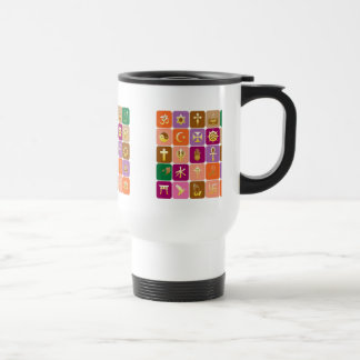 DISPLAY only :Decorative Religious ICONS Mugs