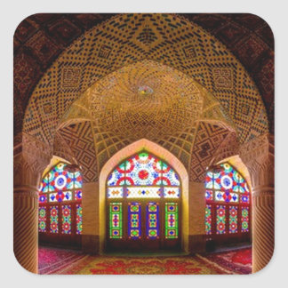 DISPLAY with respect: Religious Place of Worship Sticker