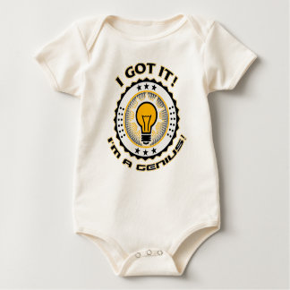 Display Your Genius Baby Bodysuit
