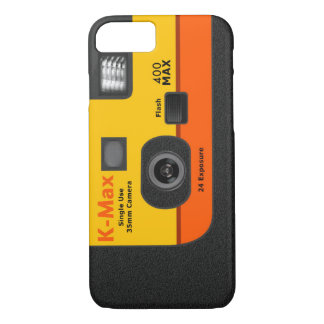 Disposable Camera - I6 Orange iPhone 8/7 Case