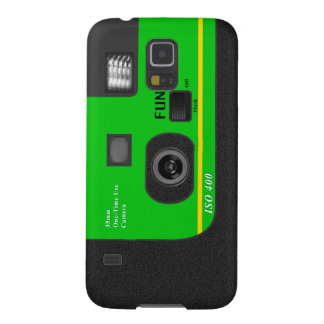 Disposable Camera - S5 Green Galaxy S5 Covers