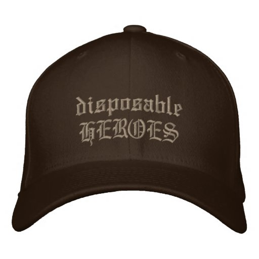 disposableHEROES Embroidered Hats