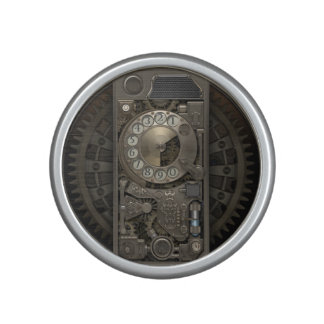 Dispositif de Steampunk - téléphone de cadran Haut-parleur