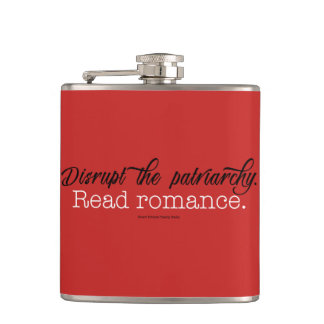 Disrupt the Patriarchy. Read Romance flask