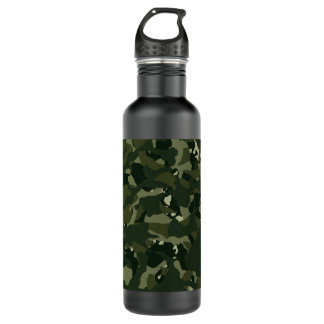 Disruptive khaki camouflage 710 ml water bottle