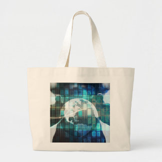 Disruptive Technology and Innovation in New Market Large Tote Bag