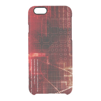 Disruptive Technology of the Human Body and Mind Clear iPhone 6/6S Case