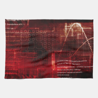 Disruptive Technology of the Human Body and Mind Kitchen Towel