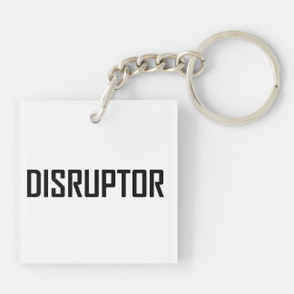 Disruptor Technology Business Keychain