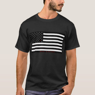 """dissent is patriotic"" smiley flag T-Shirt"