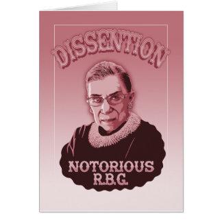 Dissention RBG Card