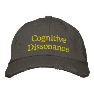Dissonance cognitive casquettes de baseball brodées