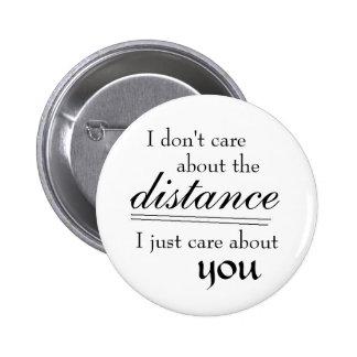 Distance 2 Inch Round Button