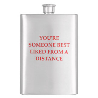 DISTANCE HIP FLASK