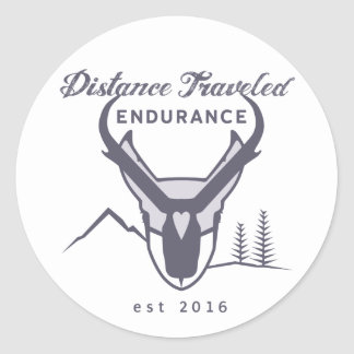 Distance Traveled Endurance Stickers