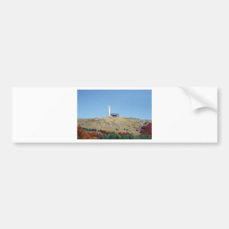 Distant Buzludzha, Balkan Mountains, Bulgaria Bumper Sticker