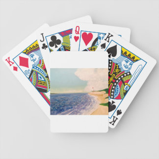 distant lighthouses poker deck
