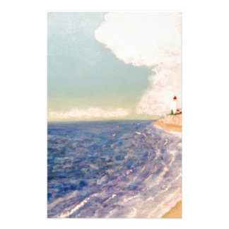 distant lighthouses stationery