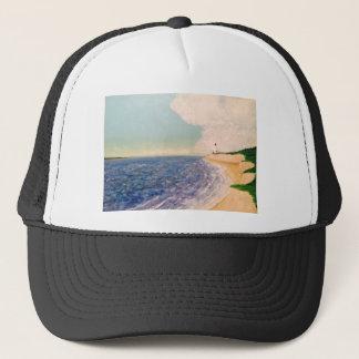 distant lighthouses trucker hat