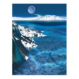 Distant planet postcard