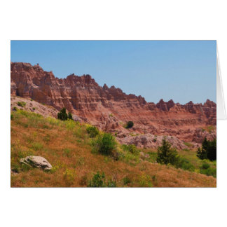 """Distant Red Cliffs"" collection Card"