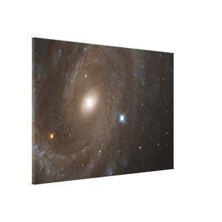 Distant Spiral Galaxy NGC 4603, Home to Variable Gallery Wrapped Canvas