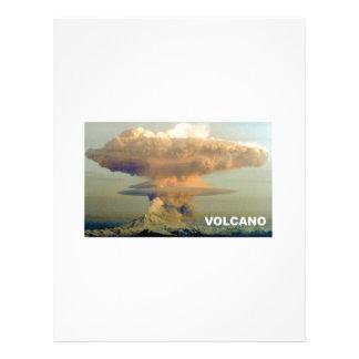 Distant Volcano Letterhead