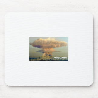 Distant Volcano Mouse Pad