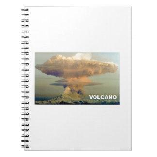Distant Volcano Notebook