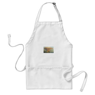 Distant Volcano Standard Apron