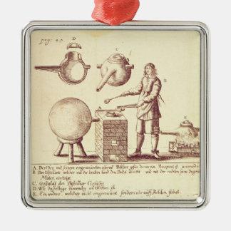 Distilling Equipment Metal Ornament