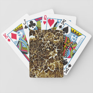 Distinctive Abstract Texture Bicycle Playing Cards