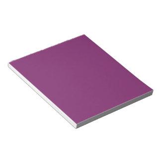 Distinctly Elite Purple Color Notepad