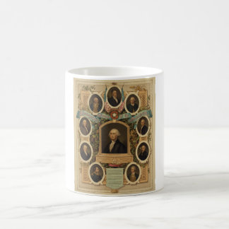 Distinguished Masons of the American Revolution Coffee Mug