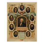Distinguished Masons of the American Revolution Post Cards