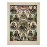 Distinguished Men of colour Poster
