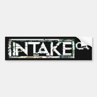 Distorted Bumper Sticker