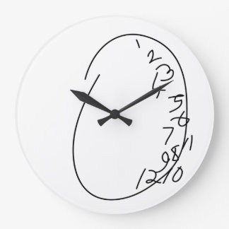 Distorted Clock Face