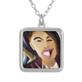 Distorted Mix 2016 Silver Plated Necklace