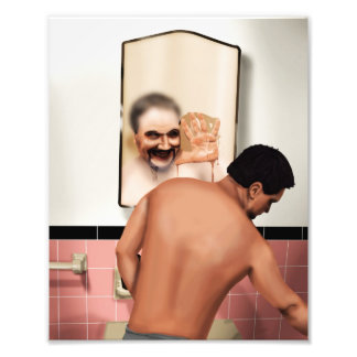 Distorted Reflections Photo Print