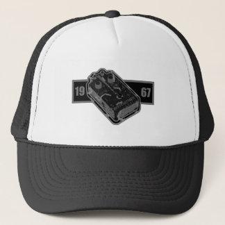 Distortion Pedal Black & White 1967 Trucker Hat