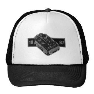 Distortion Pedal Black & White 1987 Trucker Hat
