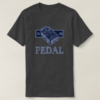 Distortion Pedal Blue/Lite Blue 1990 Customizable T-Shirt