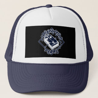 Distortion Pedal -Electric Shock Blue Diamond Trucker Hat