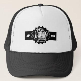 Distortion PEDAL Gear -black & White Trucker Hat