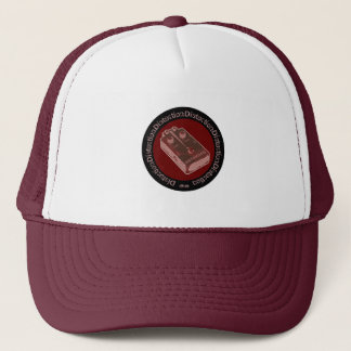 Distortion Pedal Pink Salmon/Red Trucker Hat